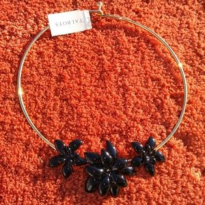 Talbots Floral Enamel Choker Necklace